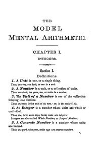 The model mental arithmetic PDF