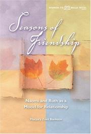 Seasons of friendship by Marjory Zoet Bankson