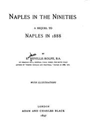 Cover of: Naples in the nineties by Eustace Neville-Rolfe