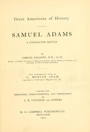 Samuel Adams by Samuel Fallows