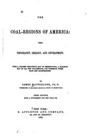 The coal-regions of America by Macfarlane, James