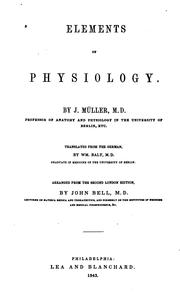 Elements of physiology.