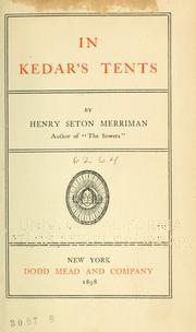 In Kedar's Tents PDF