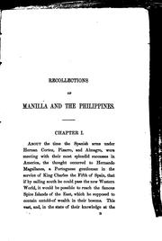 Recollections of Manilla and the Philippines, during 1848, 1849, and 1850 by Robert MacMicking