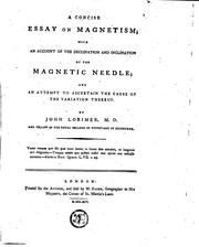 A concise essay on magnetism PDF