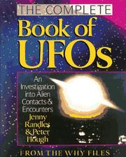 The complete book of UFOs by Jenny Randles