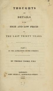 Thoughts and details on the high and low prices of the last thirty years .. PDF