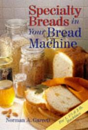 Specialty breads in your bread machine PDF