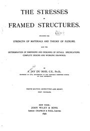 The stresses in framed structures PDF