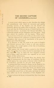 The second capture of Louisburg by Frederic H. Betts