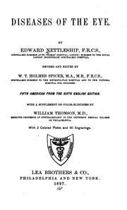 Diseases of the eye PDF