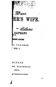 The minister's wife by Oliphant, Margaret Mrs.