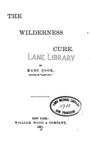 The wilderness cure PDF