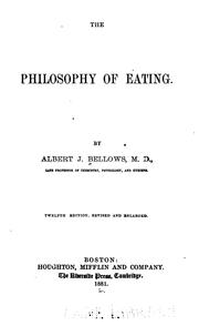 The philosophy of eating PDF