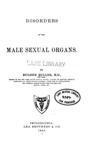 Disorders of the male sexual organs PDF