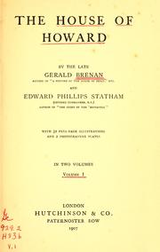 The house of Howard by Brenan, Gerald