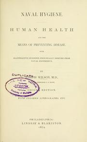 Naval hygiene. Human health and the means of preventing disease PDF