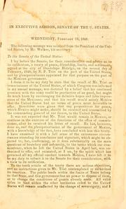 The treaty between the United States and Mexico by United States