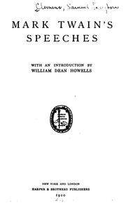 Speeches PDF