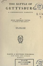 The battle of Gettysburg by Jesse Bowman Young
