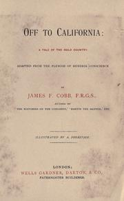 Off to California by Cobb, James F.