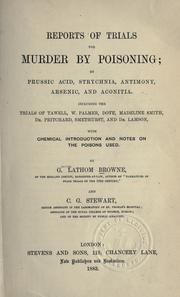 Reports of trials for murder by poisoning PDF