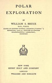 Polar exploration by William S. Bruce