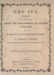 The ivy by Shirley Hibberd