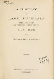 A history of Lake Champlain PDF