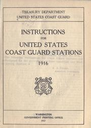 Instructions for United States Coast Guard Stations PDF