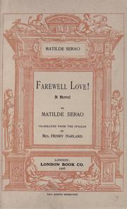 Farewell love PDF