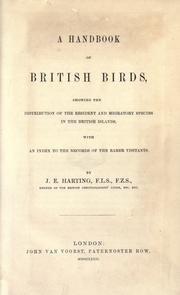 A handbook of British birds PDF