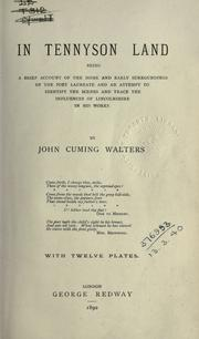 In Tennyson land by John Cuming Walters