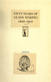 Fifty years of glass making PDF