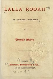 Lalla Rookh by Moore, Thomas