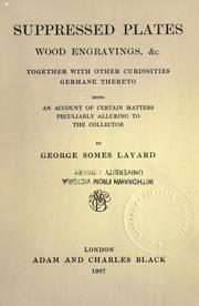 Suppressed plates, wood engravings, &c., together with other curiosities germane thereto PDF