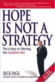 Hope Is Not a Strategy PDF