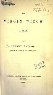 The virgin widow, a play PDF