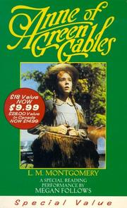 Cover of: Anne of Green Gables (L.M. Montgomery Books) by 