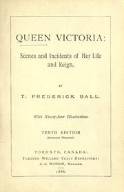 Queen Victoria by T. Frederick Ball