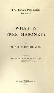 What is free-masonry? PDF
