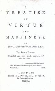 Some thoughts concerning virtue and happiness by Thomas Nettleton