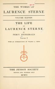 Cover of: The life of Laurence Sterne by Judith Martin