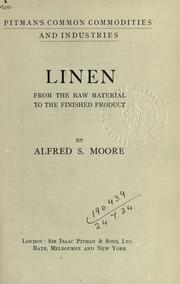 Linen by Moore, Alfred S.