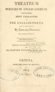 Theatrum poetarum by Phillips, Edward