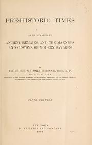 Pre-historic times PDF