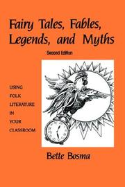 Fairy tales, fables, legends, and myths PDF