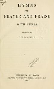 Hymns of prayer and praise PDF