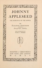Johnny Appleseed by Eleanor Atkinson