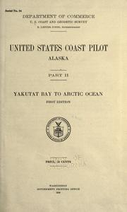 United States coast pilot by U.S. Coast and Geodetic Survey.